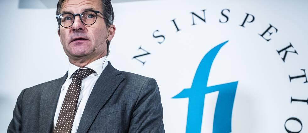 Erik Thedéen, generaldirektör Finansinspektionen