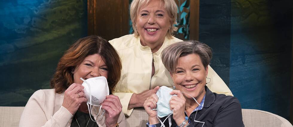 Karin Granberg, Maria Furberg och Suzanne Axell.