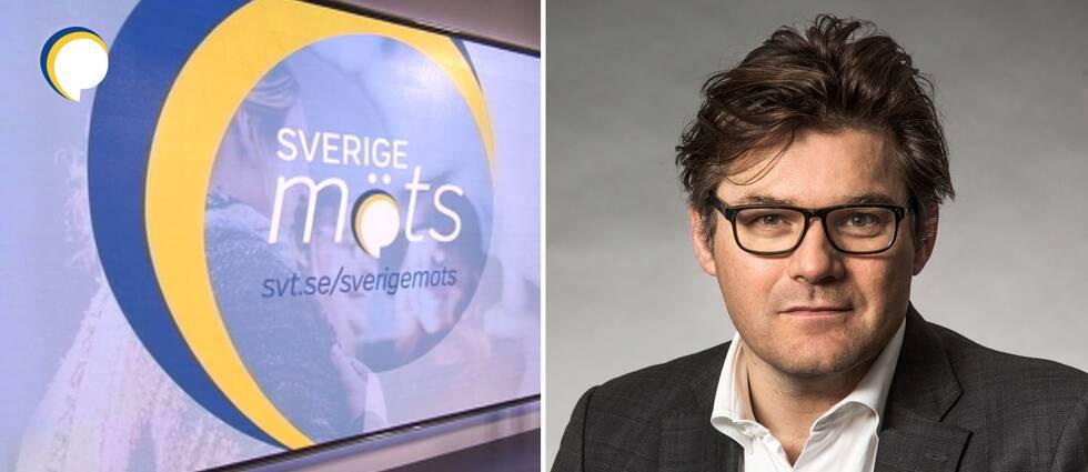 SVT:s mediedirektör Jan Helin.