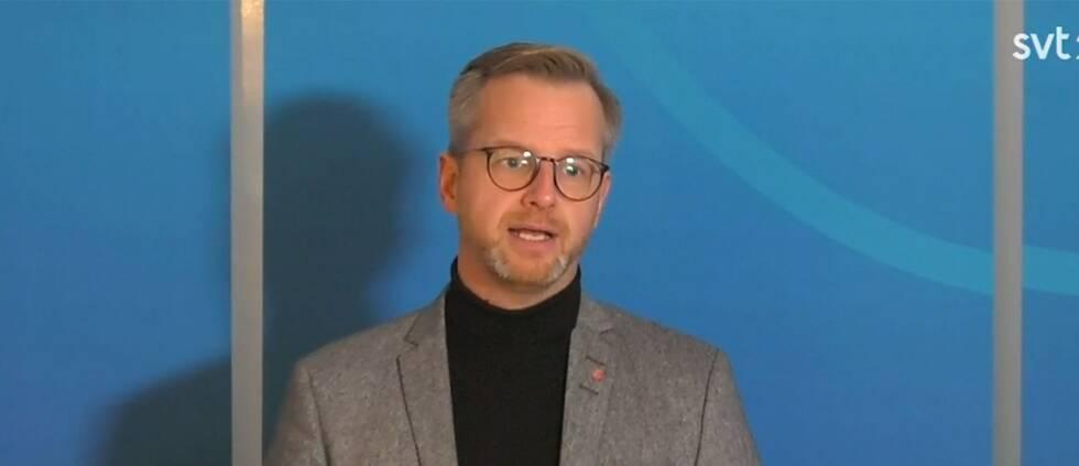 Inrikesminister Mikael Damberg (S)