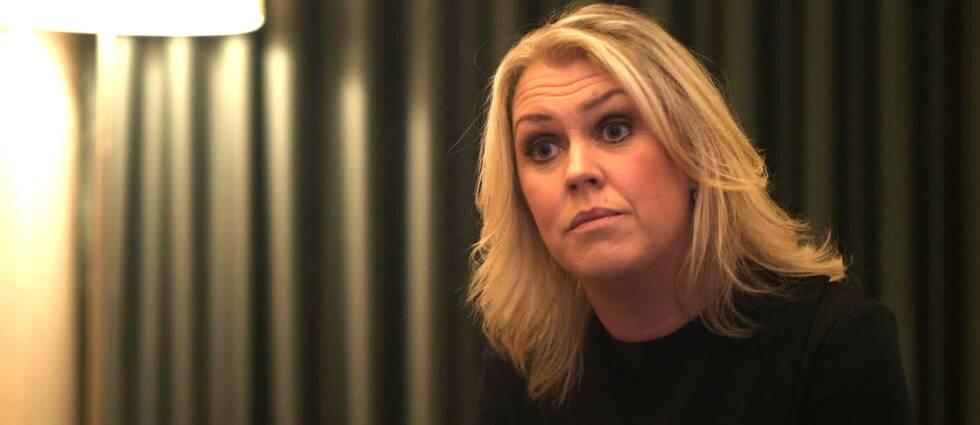 Lena Hallengren, socialministern (S)