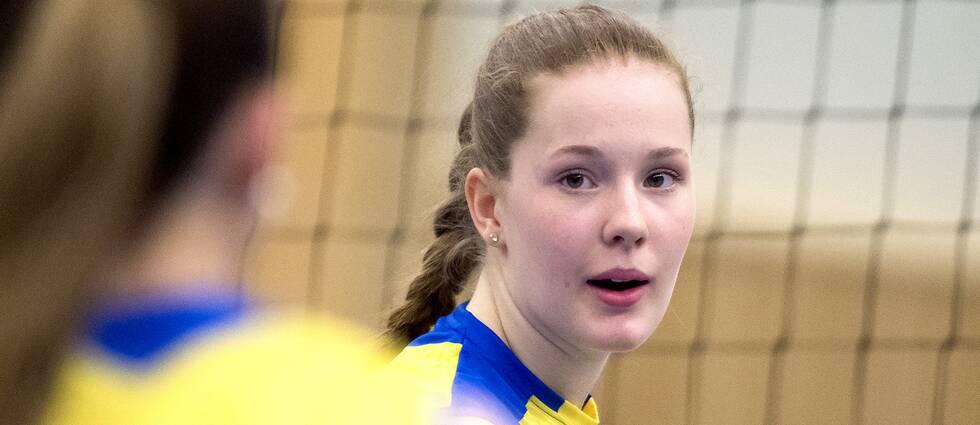 Isabelle Haak blev poängbäst i förlusten.