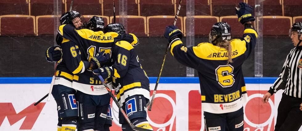 HV71 toppar SDHL efter ännu en seger.
