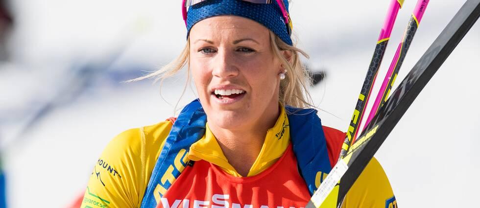 Ingela Andersson vann supersprinten i IBU-cupen.