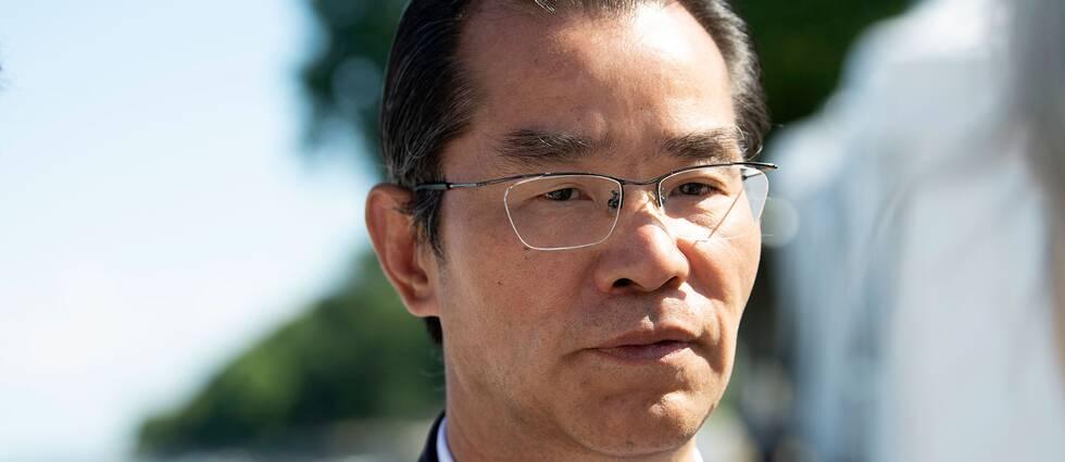 Kinas ambassadör i Sverige Gui Congyou. Arkivbild.