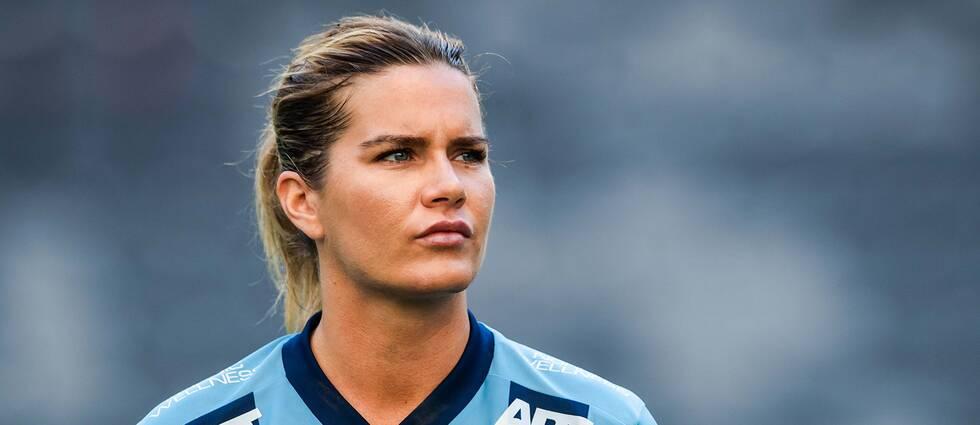 Hanna Folkesson kommer inte spela i Djurgårdströjan nästa säsong, mittfältaren är klar för Hammarby.