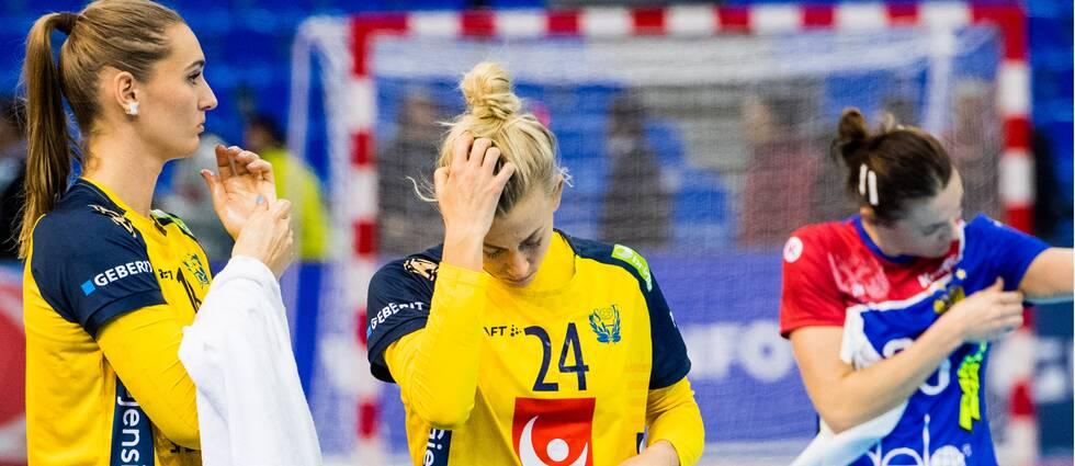 Sverige förlorade mot Ryssland i handbolls-VM.