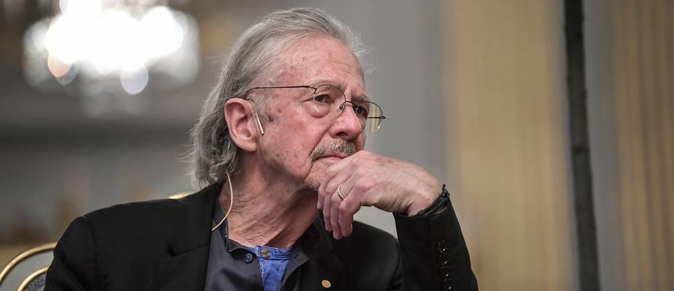 Nobelpristagaren Peter Handke.