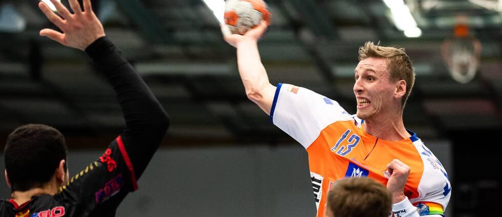 Olafur Gudmundsson gjorde fem mål för Kristianstad mot Malmö.