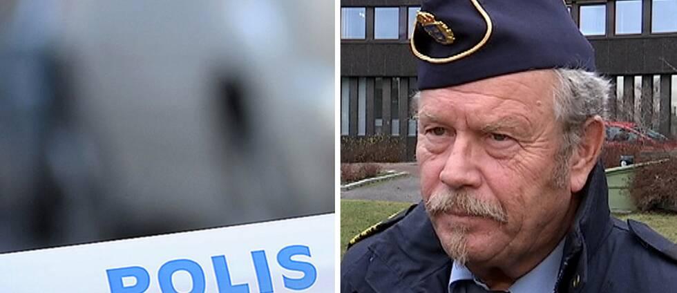 Polisens presstalesman Stefan Dangardt.