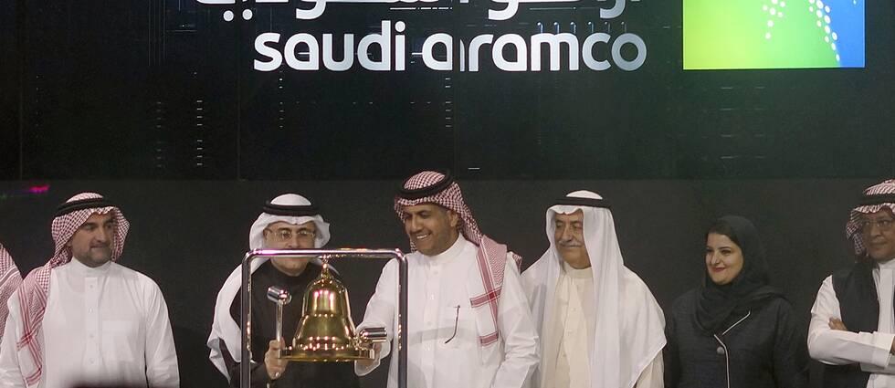 Det saudiska oljebolaget Saudi Aramcos introducering på börsen är världens största börsnotering.