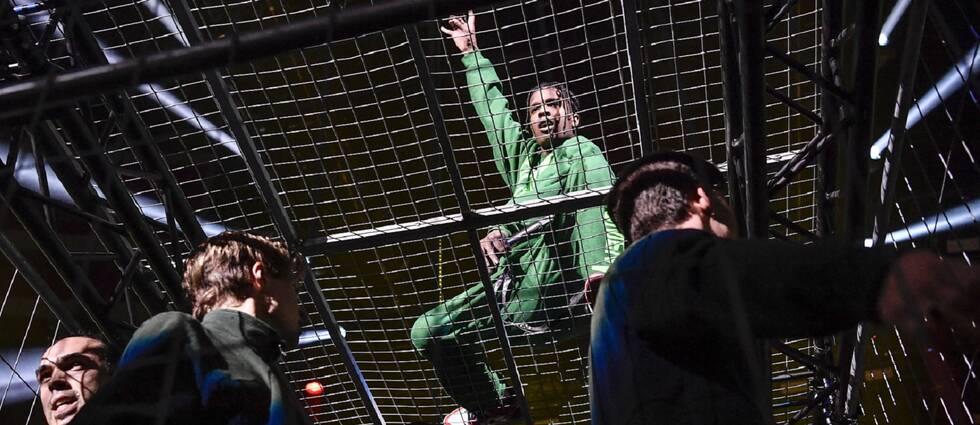 ASAP Rocky uppträdde på Globen i Stockholm 11 december 2019.