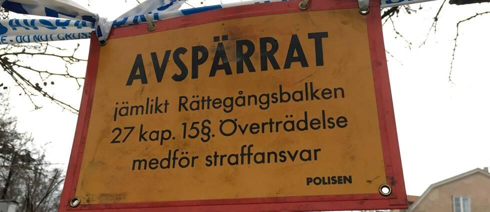 Mord i centrala Sundsvall