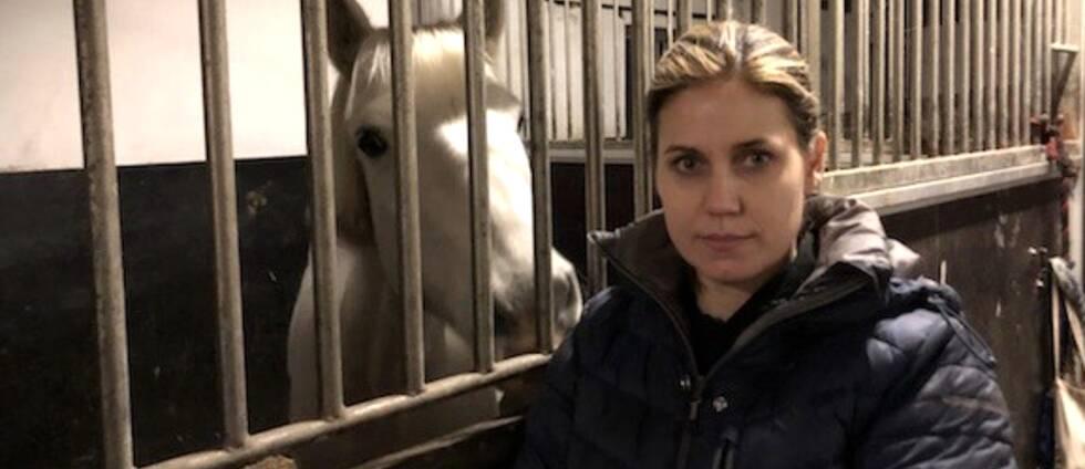 Marie Olsson upptäckte att hon haft inbrott under fredagsmorgonen när hon skulle utfodra sina hästar.