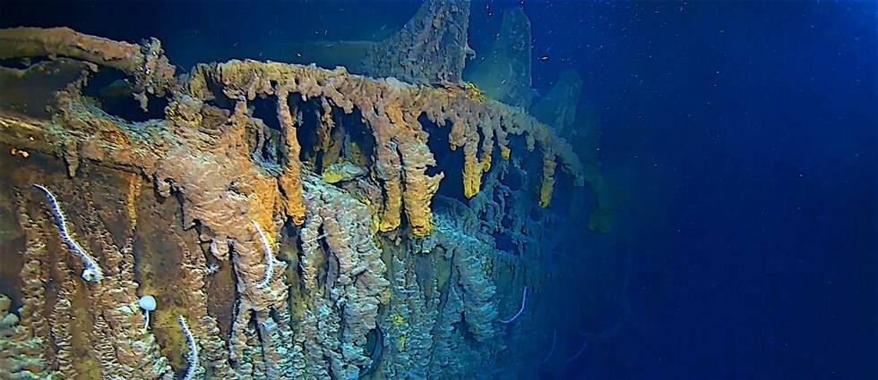 Bild från vraket av Titanic