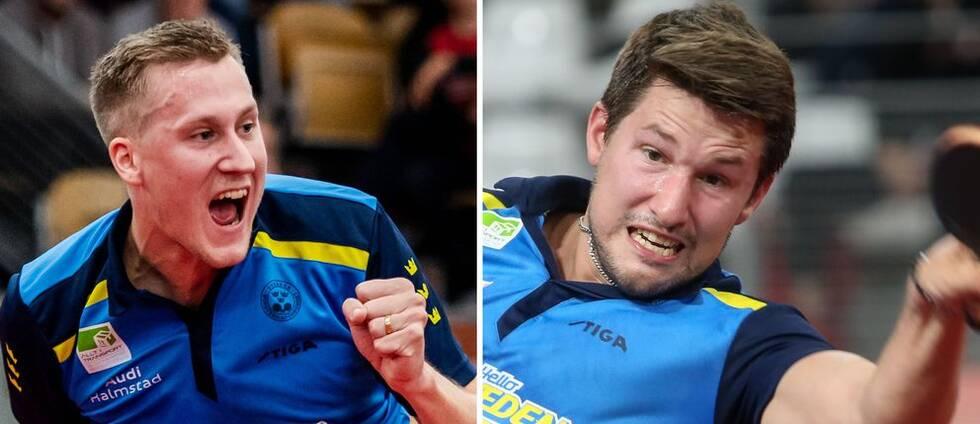 Mattias Falck, Kristian Karlsson och de svenska bordtennisherrarna är klara för OS.
