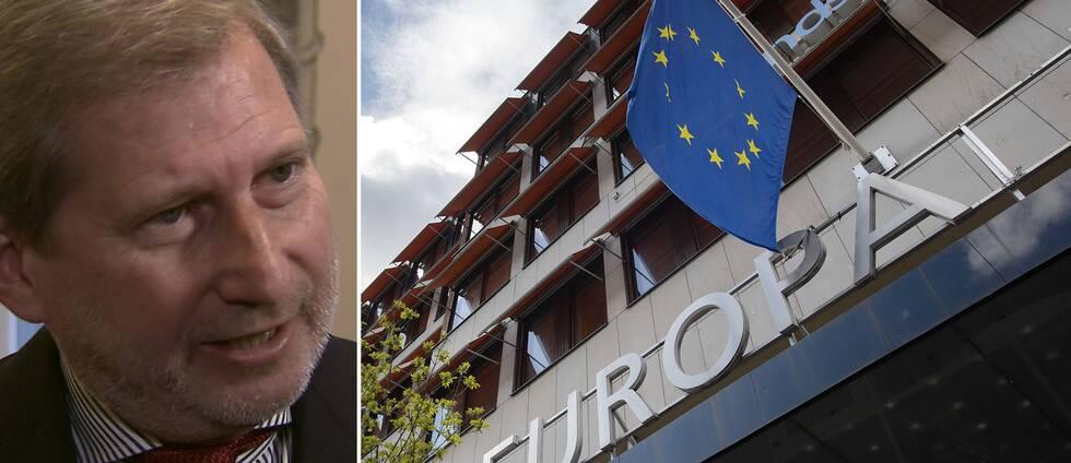 EU:s budgetkommissionären Johannes Hahn