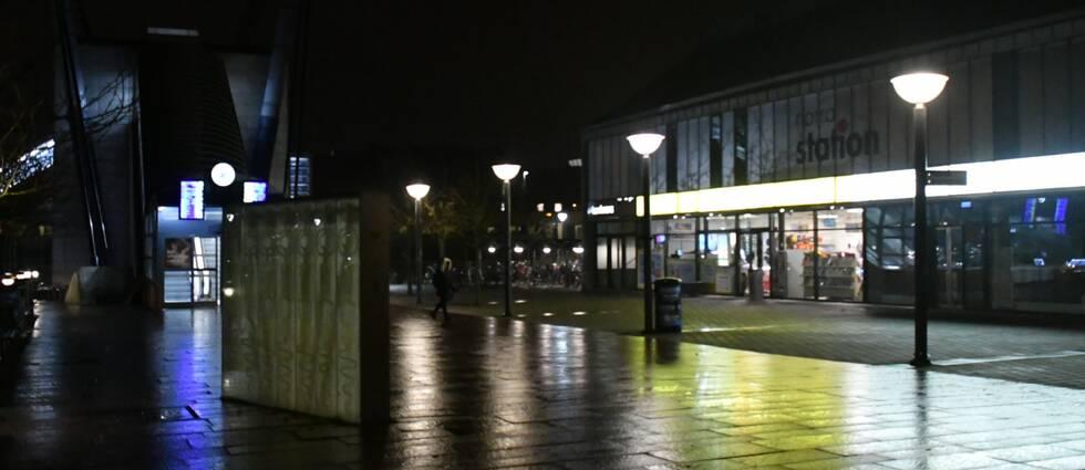 Stationen i Hässleholm