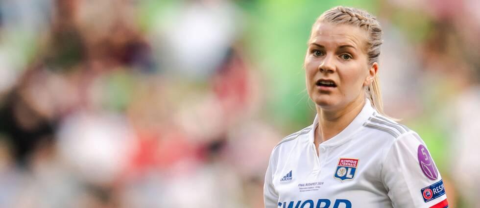 Norska målmaskinen Ada Hegerberg blir borta resten av säsongen.