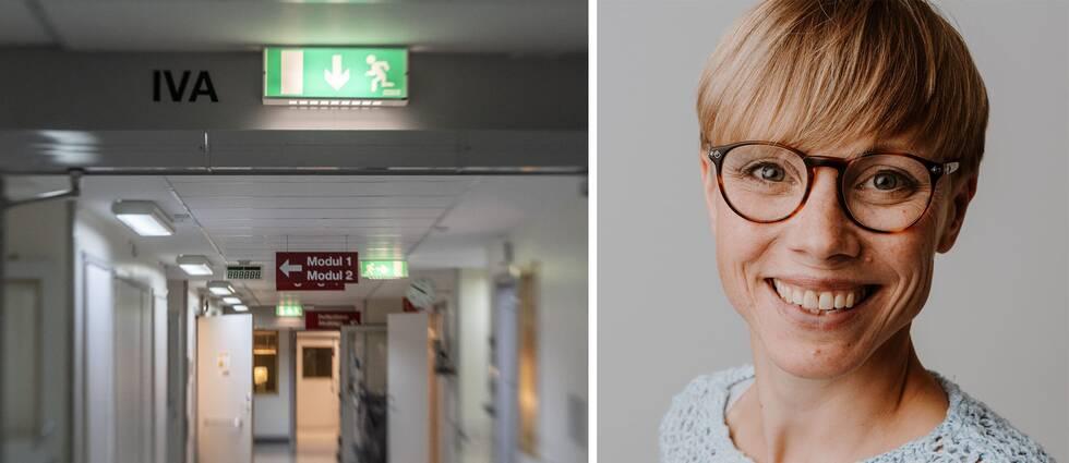 Enligt Emma Hagqvist, forskare vid Stressforskningsinstitutet, innebär stressade och överarbetade läkare en högre osäkerhet för patienter.