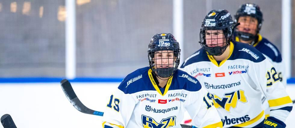 HV71 satte nytt poängrekord med 99 poäng.