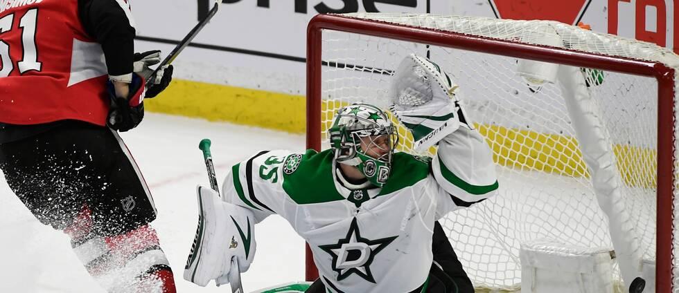 Anton Ansinmov avgjorde matchen för Ottawa mot Dallas.