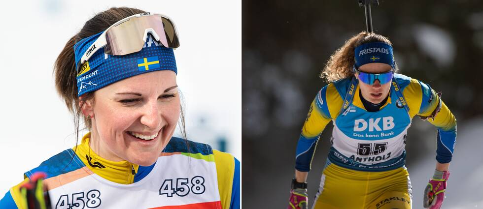 Johanna Skottheim och Hanna Öberg.