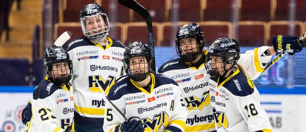 HV71 krossade Leksand i första kvartfinalen
