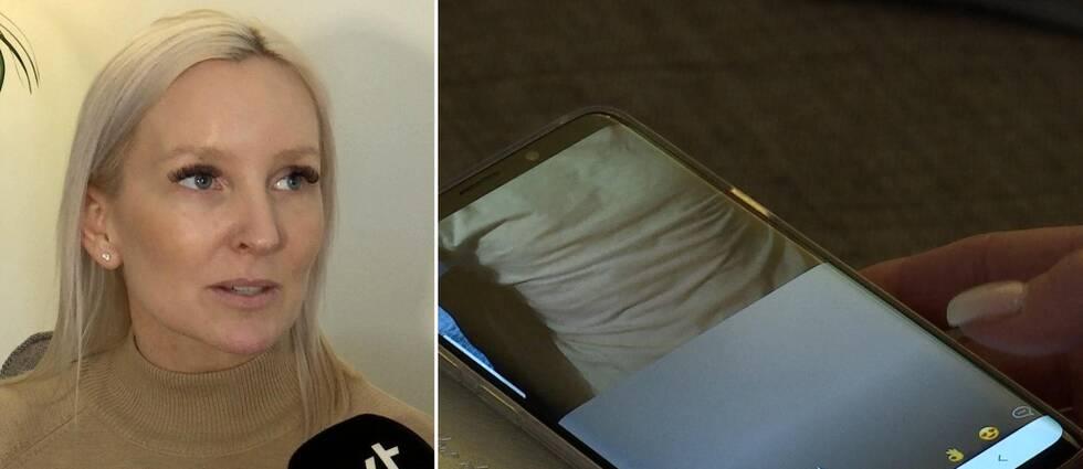Karlstadsbon Catherine Anderssons tioåriga dotter möttes av onanerande män när hon var inne i vänskapsappen OmeTV.