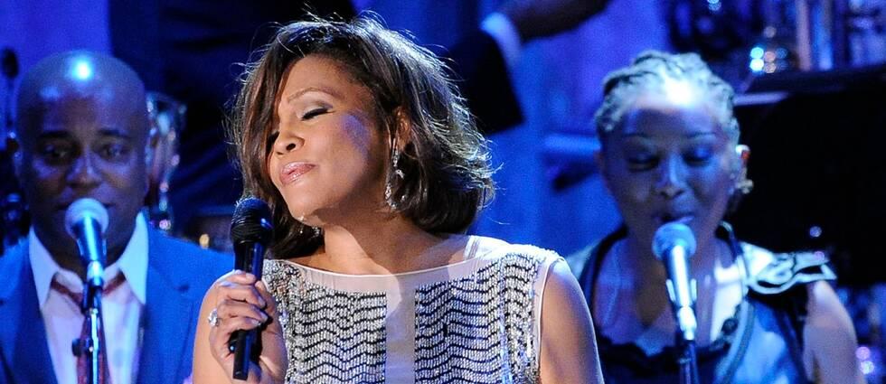 Hård kritik mot hologramshowen An evening with Whitney – The Whitney Houston hologram tour. Bilden har ingenting med hologramshowen att göra.