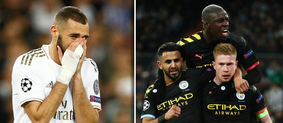 City leder med 2-1 inför returen i Manchester den 17 mars.