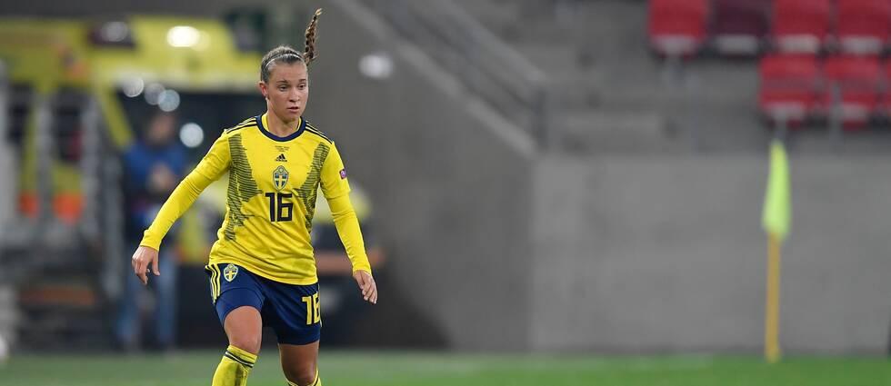 Julia Zigiotti Olme missar Algarve cup.