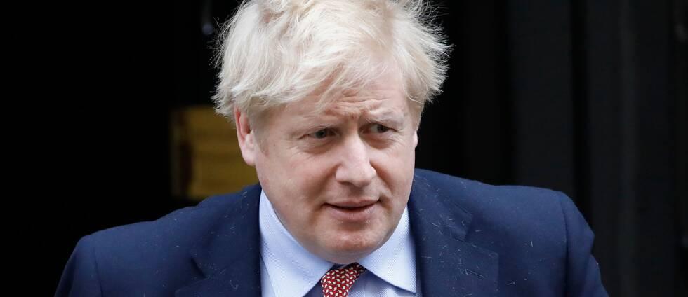 Boris Johnson smittad av coronaviruset