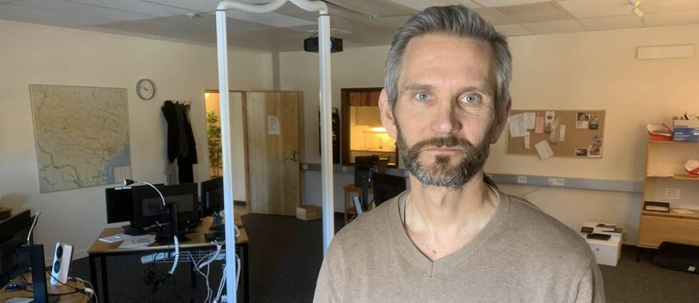 Örntaxis platschef Peter Lindberg