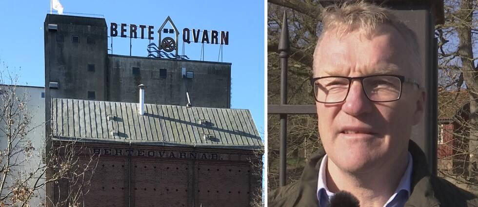 Fredrik Nilsson är råvaruchef och vice vd på Berte Qvarn.