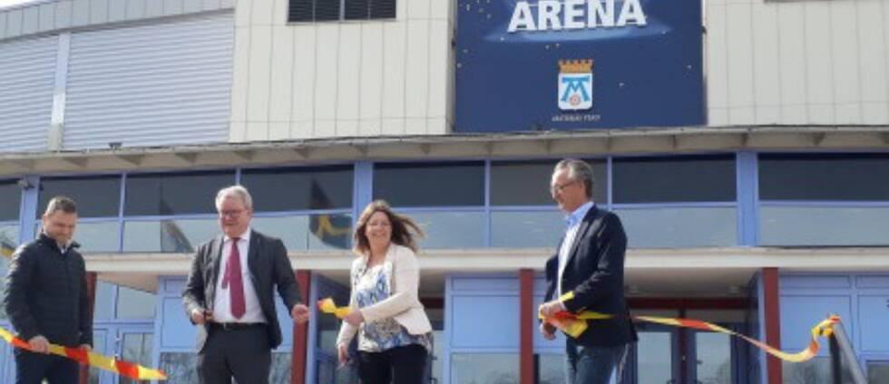Bombardier Arena har bytt namn till Västerås Arena
