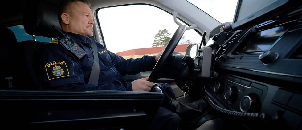 Joakim Bengtsson, trafikpolis.