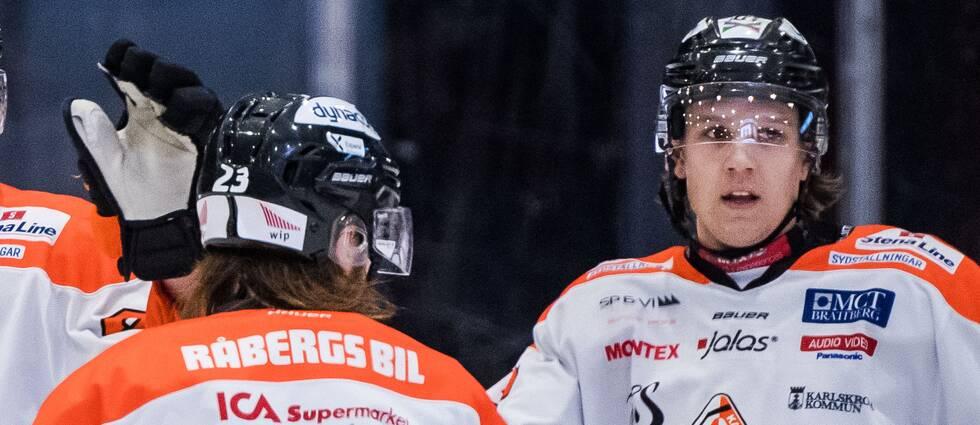 Karlskrona HK har räddats från konkurs.