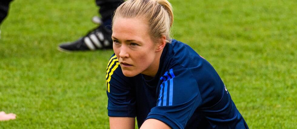 Chelseas Magdalena Eriksson i svenska landslaget.