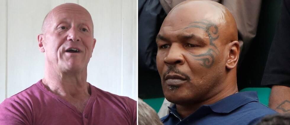 Håkan Brock och Mike Tyson.
