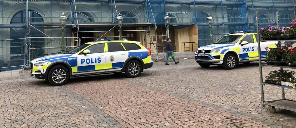 Misshandeln skedde i centrala Karlstad mitt på dagen.