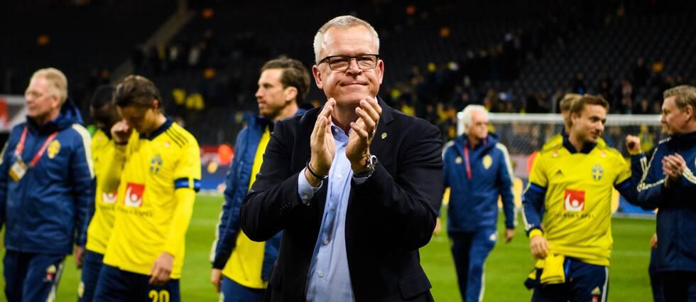 Janne Andersson fortsätter som förbundskapten över EM 2024.