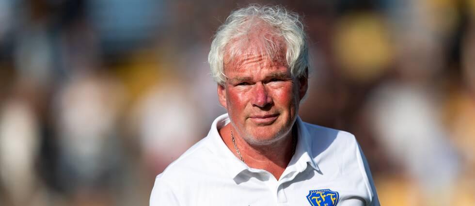 Sverker Nilsson, verksam i SVFF och tränare i Falkenberg