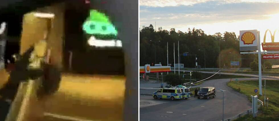 I en video som fått spridning på sociala medier går det att se när någon skjuter med ett automatvapen ur en bil. Ingen är anmäld skadad efter händelsen. Mordet på flickan i Norsborg klassas som en drive-by-skjutning, som görs i farten från till exempel en bil.