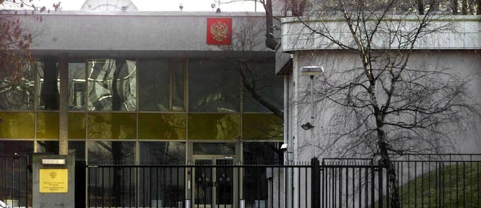 Ryska ambassaden i Stockholm.