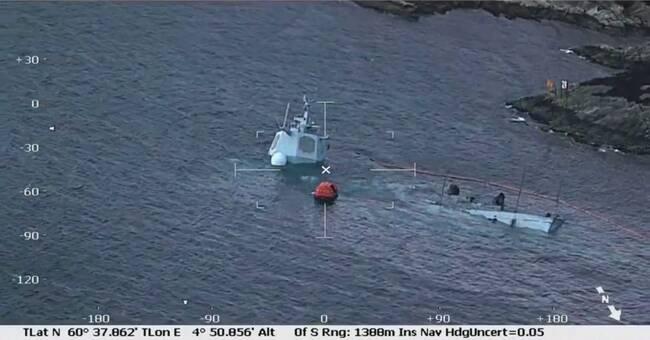 Norska fregatten sjunker | SVT Nyheter