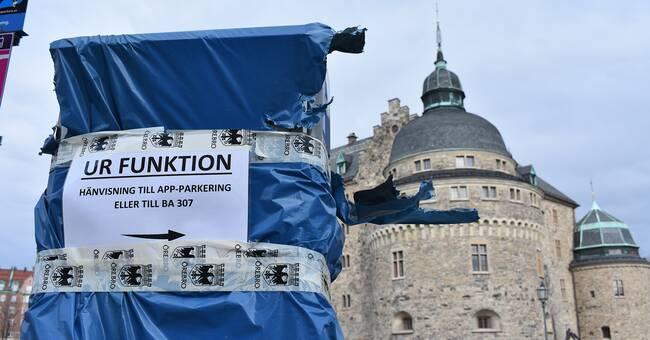 Nya parkeringsautomater i Örebro dröjer – ännu längre