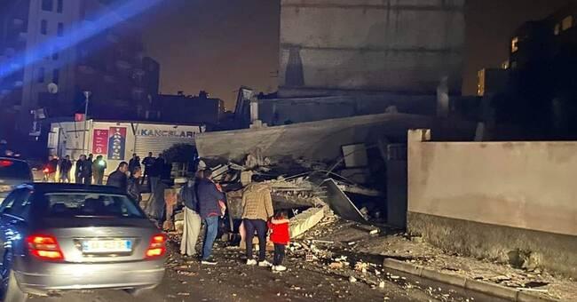 Jordbävningen i Albanien november 2019
