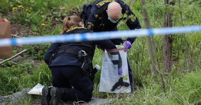 16-årig pojke gripen misstänkt för skjutning i bostadsområde