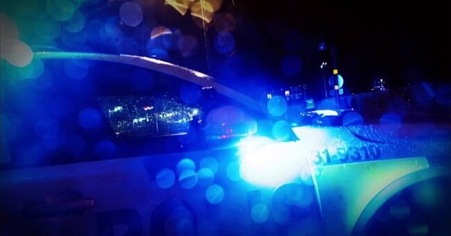 Man anhållen för grovt rån i Karlshamn